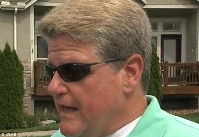 Didn't mean to: Carl Henrichson says Precious was a nuisance dog and does not deny stomping her, but says it was an accident