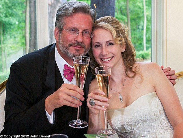 Dr William Petit married new love Christine Paluf in 2012, five years after he was the lone survivor of the brutal home invasion that left his wife and daughters dead
