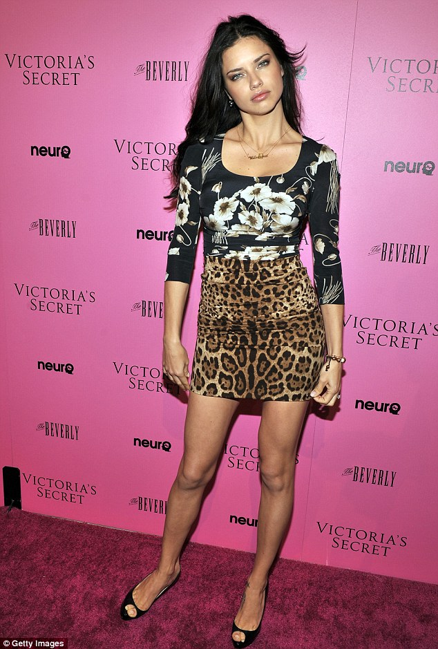 Big earner: In 2012, she came 4th on the Forbes top-earning models list, estimated to have earned £4.75 million in one year