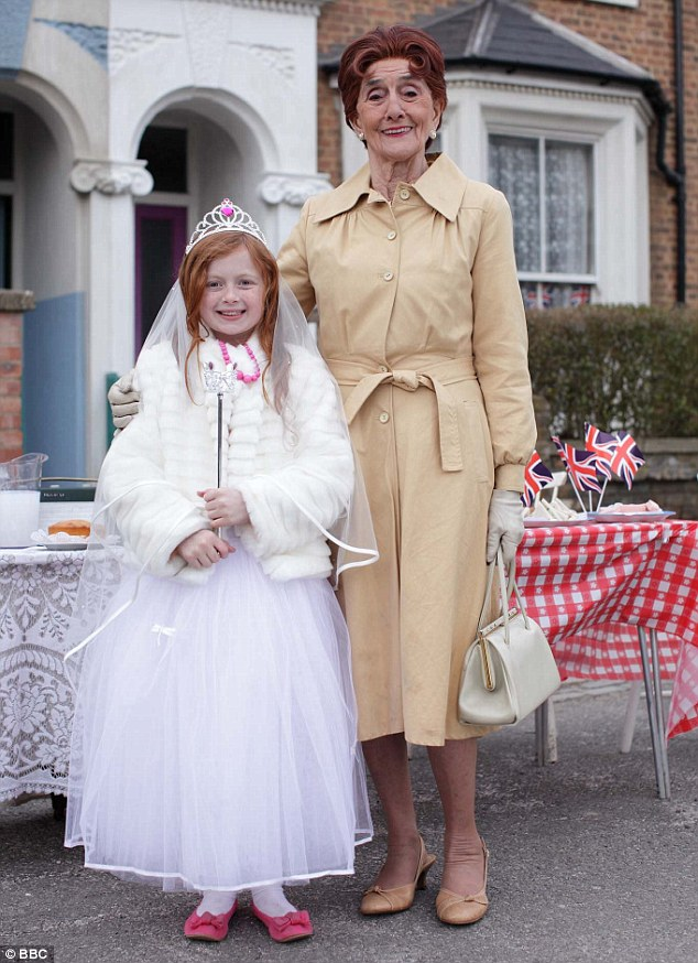 Royal wedding: EastEnders characters including Dot and Tiffany Dean celebrated the Duke and Duchess' wedding in 2011 with a street party