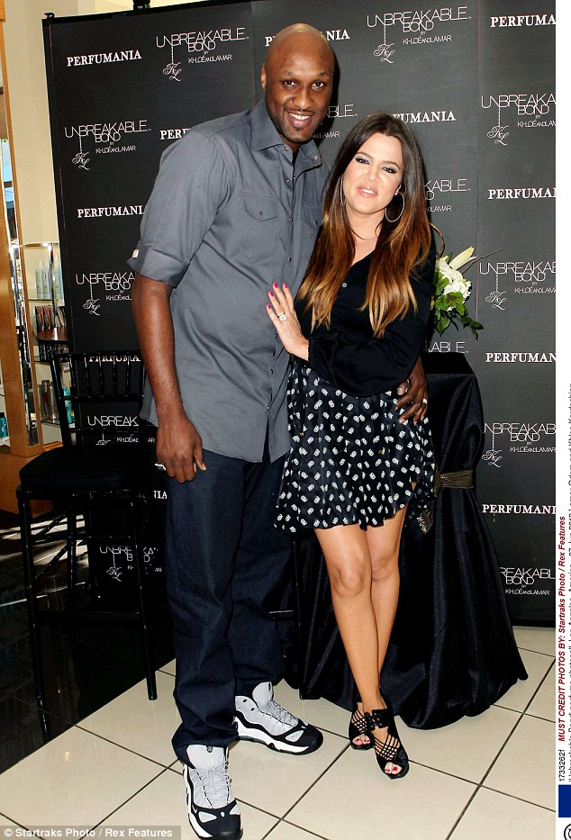 More in love than ever: Khloe and Lamar maintain their marriage is just fine following initial claims that he had cheated on her