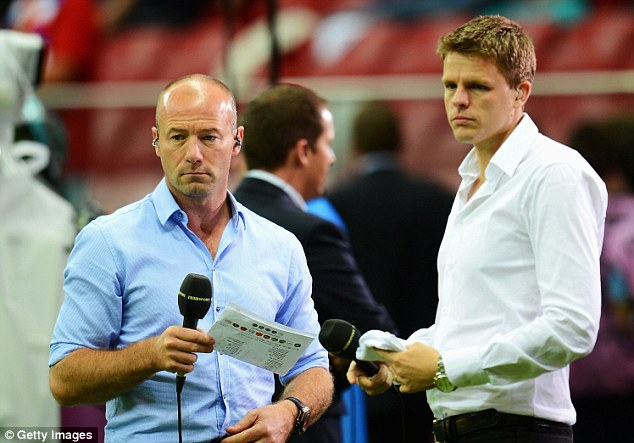 Friend: Alan Shearer (left) sent a message of support to Westwood