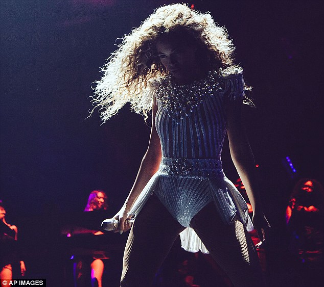 Superstar status: The singer continues to wow audiences as she takes her tour around the world