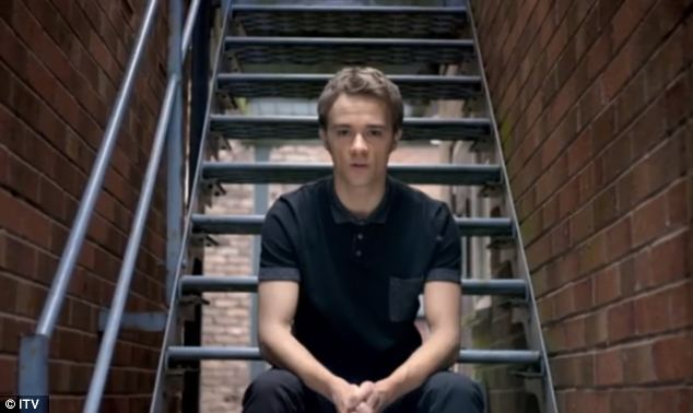 Sonnet: David Platt, played by Jack Shepherd, features in the advert, where stars of Coronation Street and Emmerdale recite lines from Shakespeare's Sonnet 18