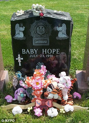 Outpouring: Baby Hope's case struck a chord with New York Police and residents alike