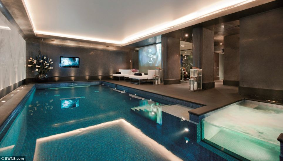 Lethbridge House boasts a spa and swimming pool so owners can relax in splendour