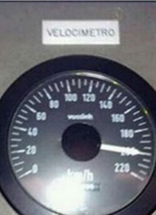 Images have emerged from a Facebook site said to be Garzon's in which he had posted a picture of a train speedometer at 200kph (125mph) and joked about how fast he was going