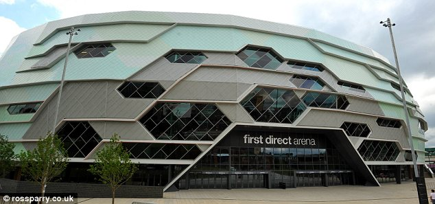 Landmark: The arena is the first major music venue to be built in Britain's third-largest city