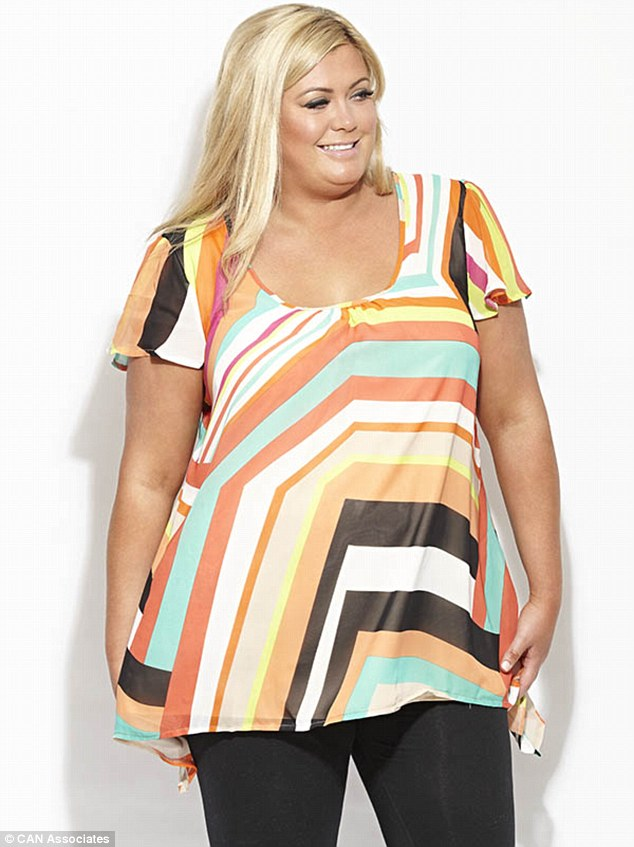Grand plans: Gemma would love to have a flagship store on Oxford Street (Mexico top, £45)