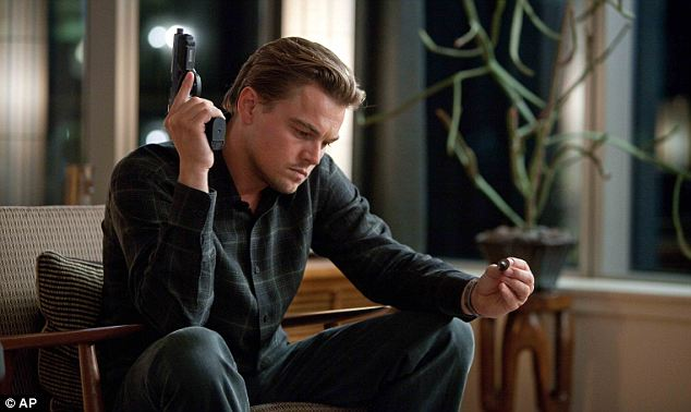 The concept of implanting memories into people's brains was the plot of the 2010 film Inception starring Leonardo DiCaprio, pictured, as Cobb