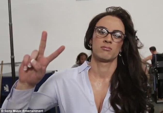 Zayn Malik dresses as a woman for the Best Song Ever video