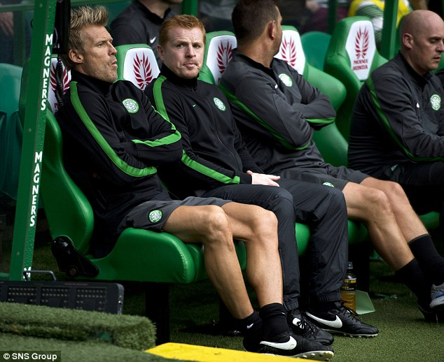 Warning: Neil Lennon has urged fans to leave fireworks at home