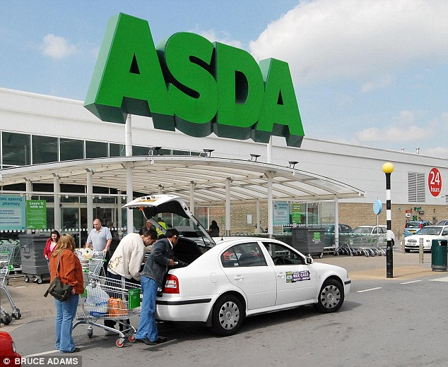 Freezing: Asda proved to be too cold for comfort for our writer