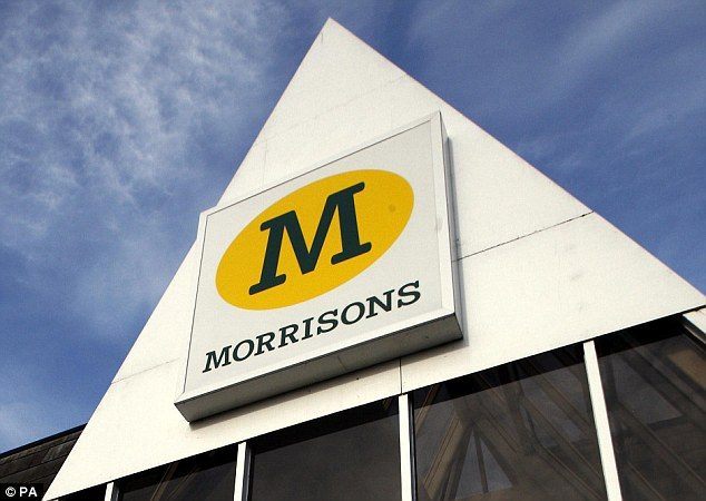 Safe: You can safely shop for  your barbecue food in Morrisons without risking hypothermia