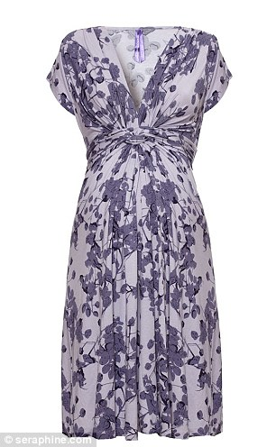 The Kate effect strikes again! The £50 Blossom Knot Front Lavender Dress she wore already has a month's waiting list
