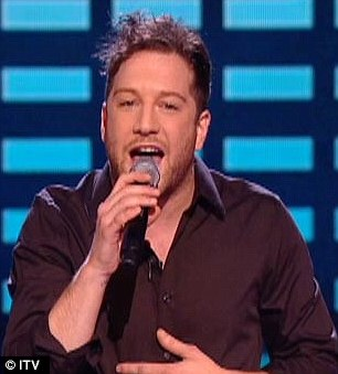 Erased: Series 1 winner Steve Brookstein (left) and Series 7 champ Matt Cardle are missing from the X Factor Ultimate Mash-up video