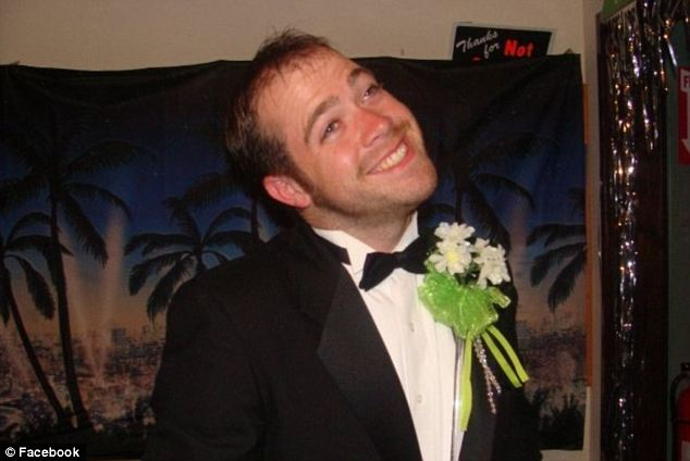 Sad: Mark Lennon was to be the couple's best man at their wedding on August 10. He remains missing and is presumed dead