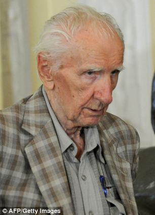 Hungarian Ladislaus Csizsik-Csatary, 97, allegedly sent 15,700 Jews to their death in a ghetto in Kosice