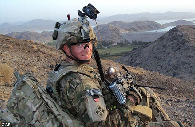Courage: Staff Sgt. Ty Carter, of Spokane, Washington will receive the Medal of Honor from President Obama next month