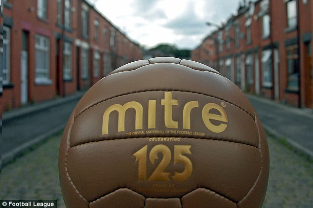 Changing times: Alice Street - scene of the first Football League goal 125 years ago