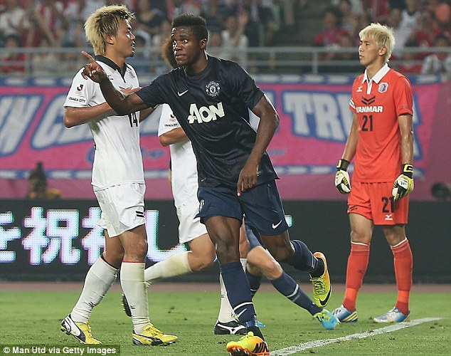 Hot shot: January signing Wilfried Zaha could prove himself to be a key player this season for Manchester United
