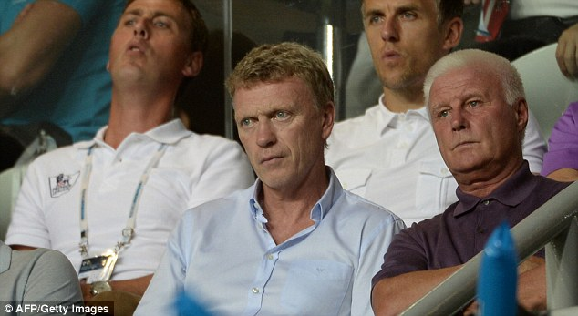 Huge challenge: Moyes faces the significant pressure of succeeding Sir Alex Ferguson