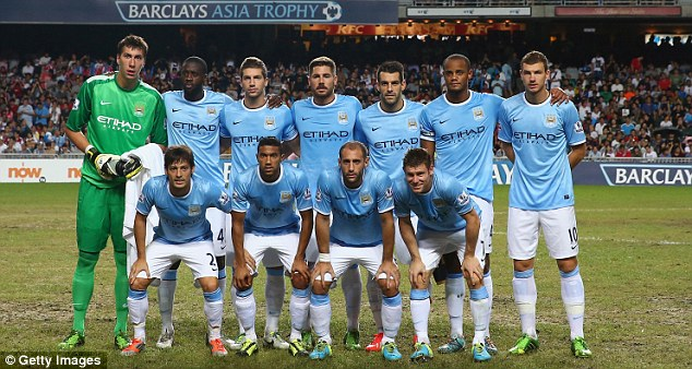 New-look City? The 2012 Premier League champions have been working under Manuel Pellegrini for the first time
