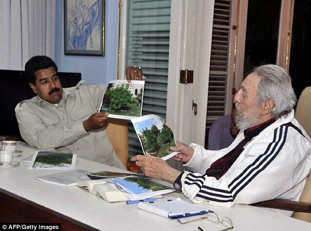Anniversary: The meeting between Castro and Maduro met on the 60th anniversary of the Cuban Revolution