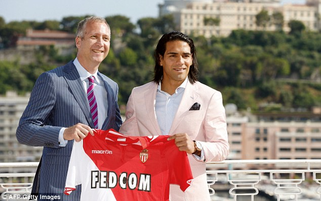 Businessman: Monaco sporting director welcoming Colombian forward Radamel Falcao