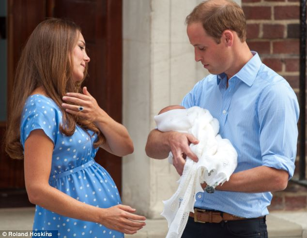 Immediate pressure: Magazines have already started discussing the Duchess' post-natal weight-loss regime only a week after she gave birth