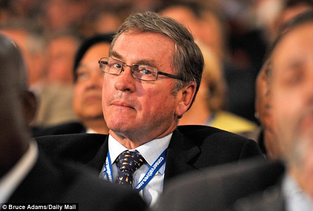 Support: Former Tory treasurer Lord Ashcroft (pictured in 2010) said the illness 'will not hold her back' and revealed that he is also a sufferer