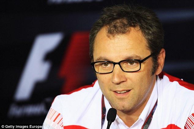 No panic: Ferrari team principal Domenciali has no concerns that Alonso will move