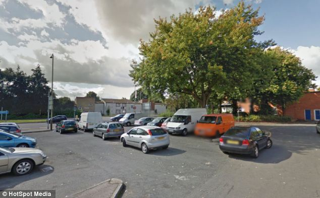 Clue: The 14-year-old victim heard an accomplice call his attacker's distinctive name after being set upon in this car park near Tudor Road and Kate Street in Leicester