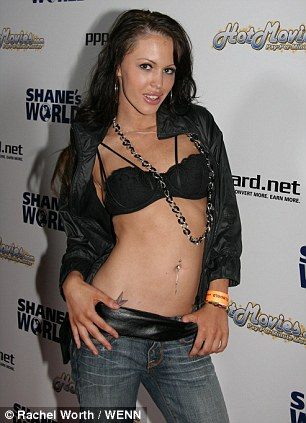 Super-Star: Jenna Presley was one of the porn industry's top performers for seven years since she began sex scenes aged 18