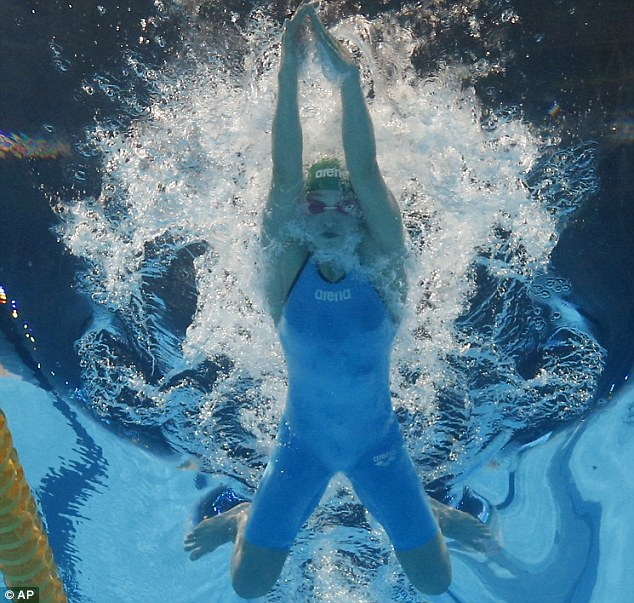 Athletic: Meilutyte broke the world record in Barcelona