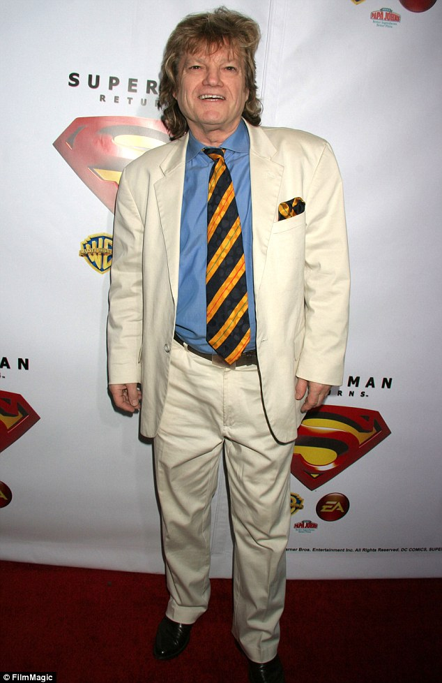 Super producer: Superman producer Ilya Salkind, shown in Los Angeles in 2006 at a Superman Returns launch party, has panned the new Man of Steel reboot