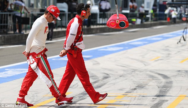 Down in the dumps: Fernando Alonso had another disappointing weekend with Ferrari, and spoke out
