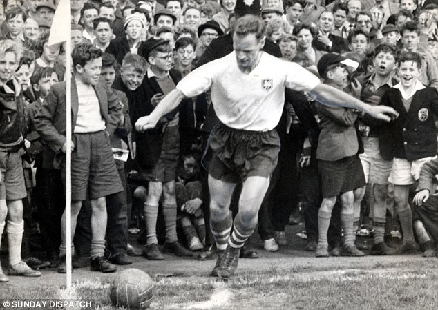 Times have changed: Football is completely different to when the likes of Tom Finney played the game