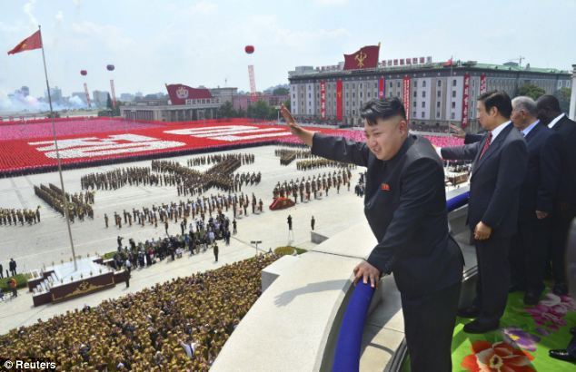 Scenes such as the parade to mark 60 years since the end of the war are a show of strength as well as uniformity among Kim Jong Un's troops