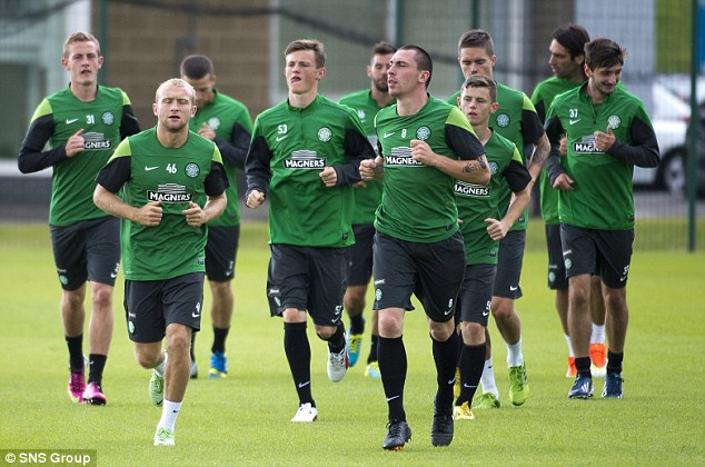 Preparation: Celtic face Elfsborg in the first leg of their third round qualifier at Parkhead on Wednesday