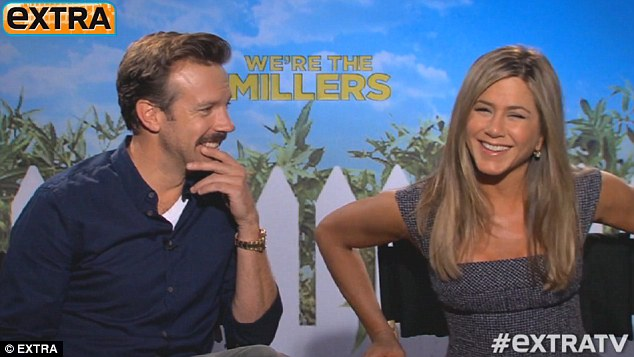 'We're racing to get married!' Jen joked that she and co-star Jason Sudeikis were competing about who would get married first, as both happen to be currently engaged