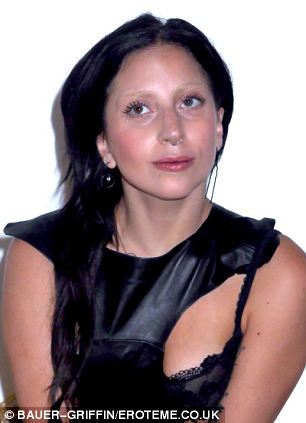 Alternative Lady Gaga is often seen wearing her nose ring