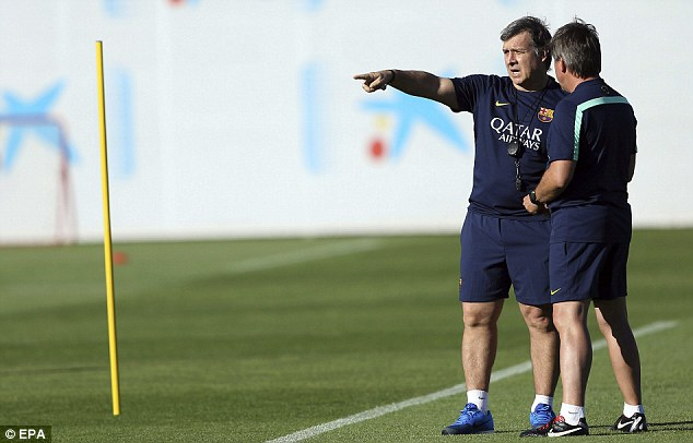 I want that one: Martino is keen to strengthen an area that has lost one player this summer already