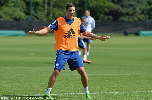 Misfit: Torres has scored just 34 goals in 131 games since his £50million move to Chelsea