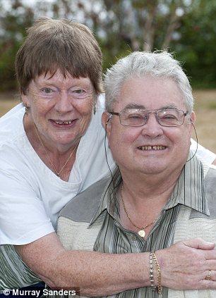 Margaret and John Coddington: Still waiting for their money
