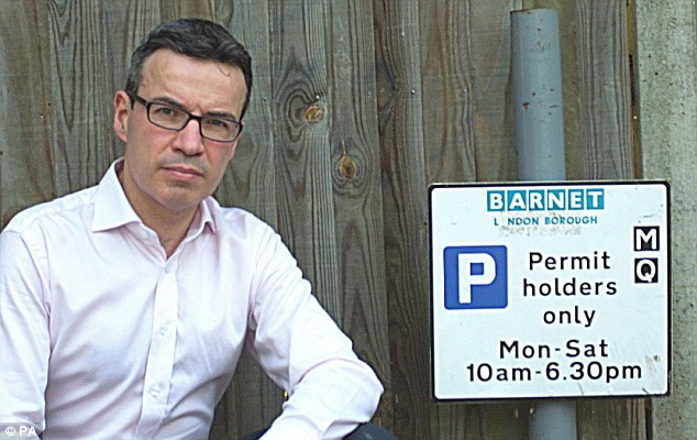 It wasn't until June 2011, when Barnet Council decided to increase the cost of visitor vouchers to £4 and raise the price of permits from £40 to £100, that David began to suspect he was being milked for his money