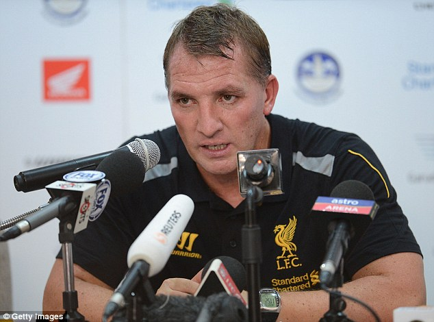 Adamant: Rodgers says the Suarez saga has not had an impact on the harmony within the club