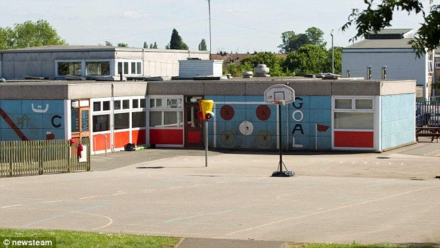 Schoolboy: Little Heath Primary School in Coventry, West Midlands, where Daniel Pelka used to attend. He used to scavenge food from bins in the weeks before he died because he was so hungry