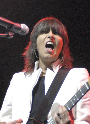Rock star: Chrissie Hynde of The Pretenders