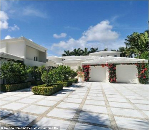 Star-studded: The property sits in an enclave where Matt Damon also owns a home